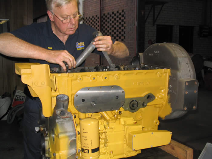 Caterpillar Engine Assembly