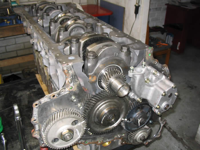 hino Block Completed Engine