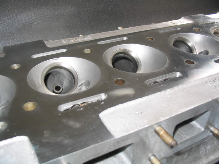 Machined cylinder head