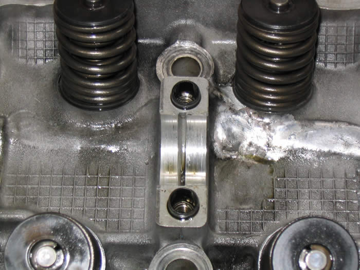 Excessive Welding Repairs on a Mazda Cylinder Head